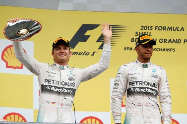 F1 Belgia, Mercedes po raz kolejny gromi