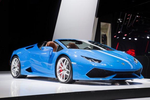 Lamborghini przedstawia swój top model bez dachu