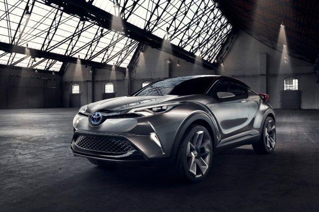 Toyota C-HR ostatnia prosta przed rynkowym debiutem