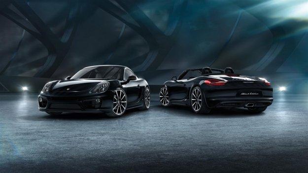 Porsche Cayman w ekskluzywnej Black Edition