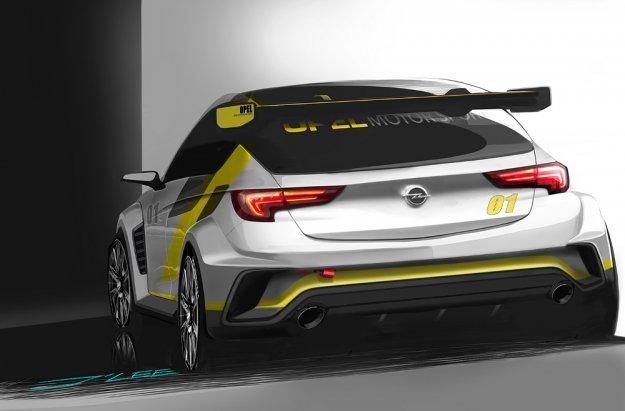 Opel Astra TCR, nowy kompaktowy bolid