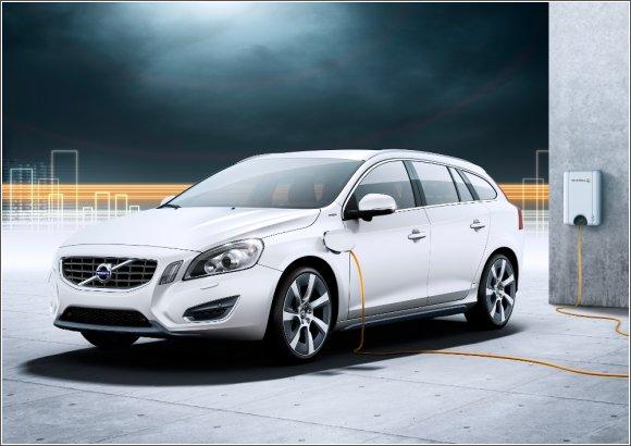 Volvo V60 pod prądem.