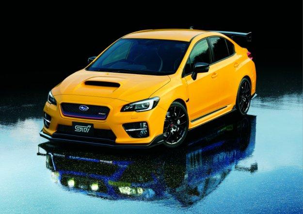Subaru przedstawia limitowaną serię WRX STI S207