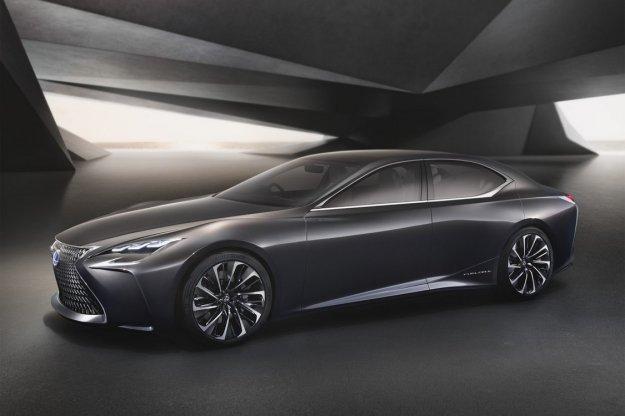 Lexus LF-FC, segment premium na wodór