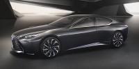 www.moj-samochod.pl - Artykuďż˝ - Lexus LF-FC, segment premium na wodór