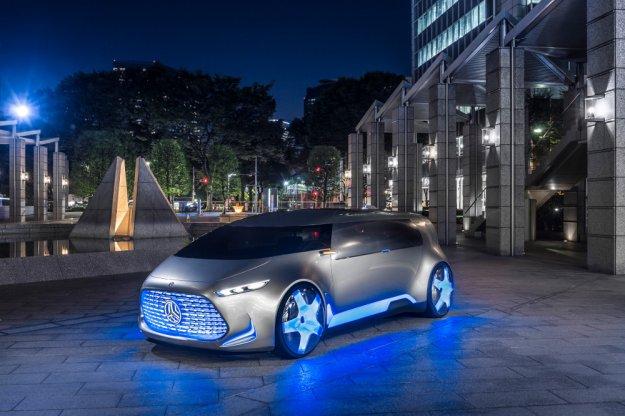 Mercedes prezentuje kolejny autonomiczny samochód