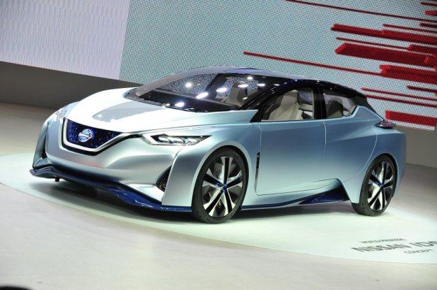 Concept IDS elektryczna autonomiczna przyszłość Nissana