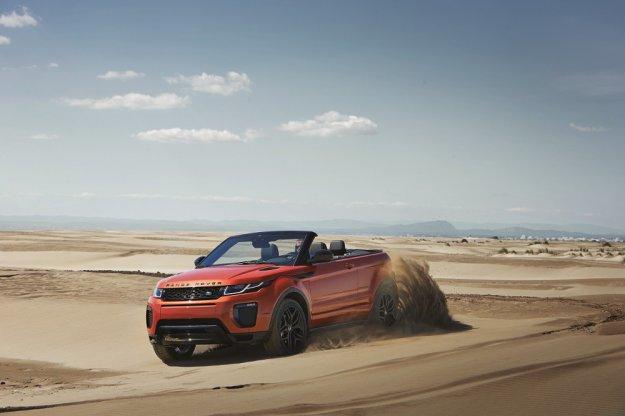 SUV jako kabriolet, Land Rover przekracza kolejną granicę