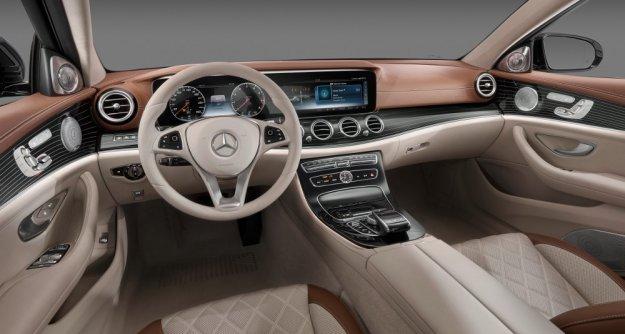 Nowe wnętrze dla Mercedesa E-Klasa