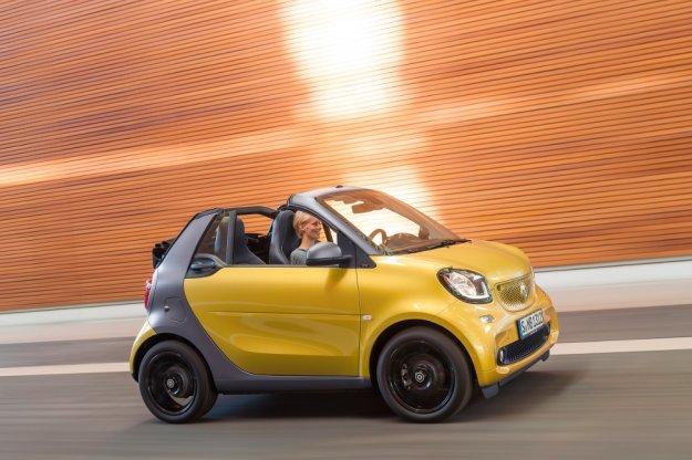 Smart rozpoczyna sprzedaż nowego ForTwo Cabrio