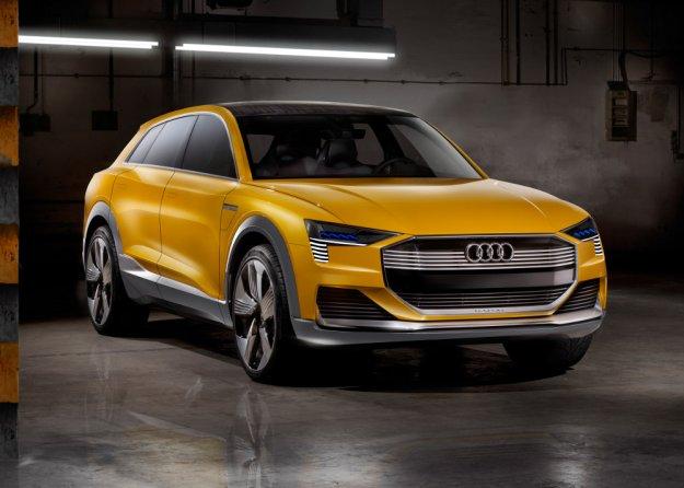Audi też ma samochód na wodór, który sam się porusza