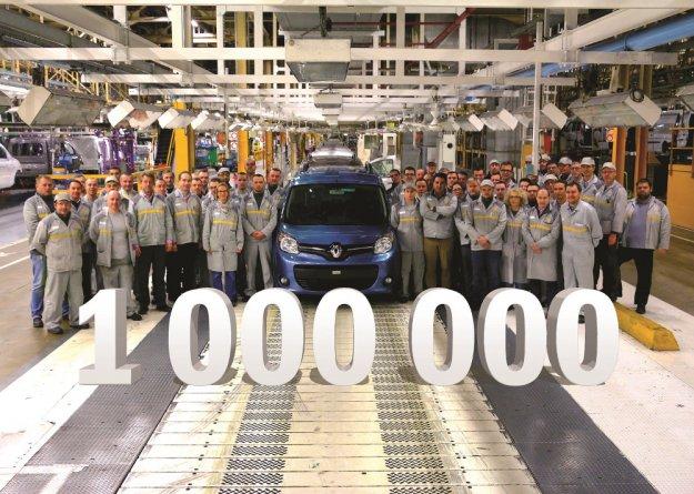 Milionowy Renault Kangoo drugiej generacji sprzedany