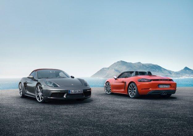 Porsche 718 Boxster nowy Roadster niemieckiej firmy