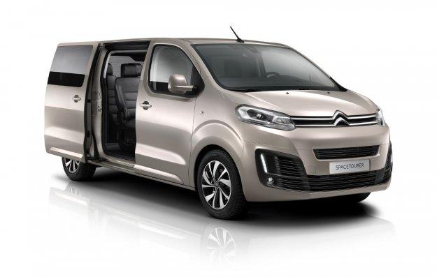 Nowy Francuski Van w trzech długościach