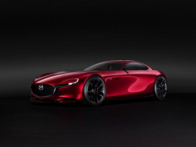 Mazda pokazuje europie RX-VISION