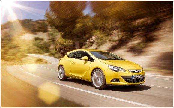Nowy Opel Astra GTC