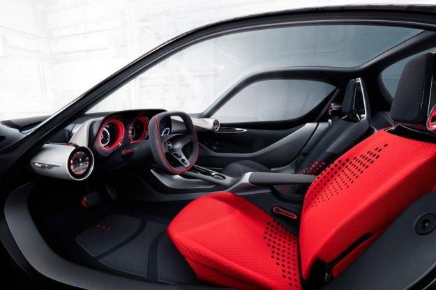 Opel pokazuje wnętrze nowego modelu koncepcyjnego GT
