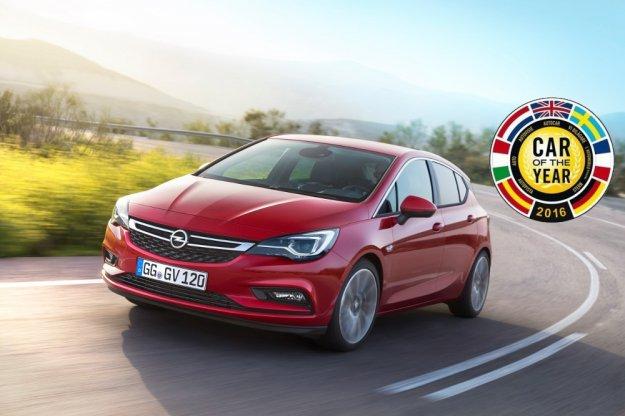 Europejskim Car of the Year 2016 został Opel Astra