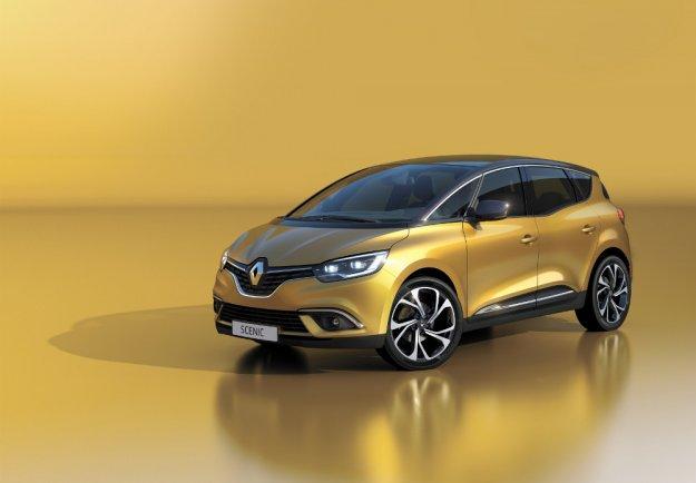 Renault Scenic odświeżony miejski wan w Genewie