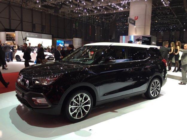 Produkcyjna wersja nowego modelu SsangYong XLV