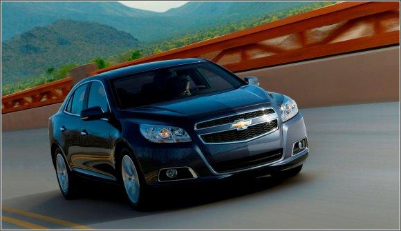 Chevrolet Malibu nowa limuzyna