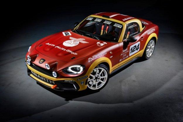 Abarth 124 Rally - Fiat 124 Spider pod opieką Abartha
