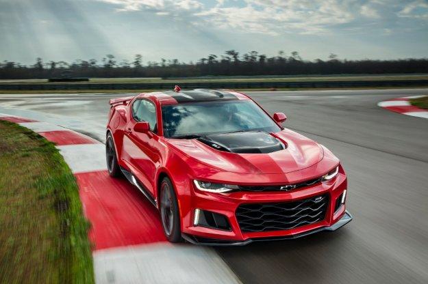 Nowe Chevrolet Camaro ZL1 szuka godnego konkurenta