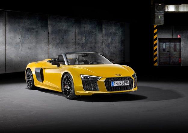 Premiera nowego Audi R8 Spyder V10 w Nowym Jorku