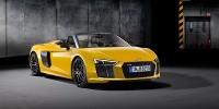 www.moj-samochod.pl - Artykuďż˝ - Premiera nowego Audi R8 Spyder V10 w Nowym Jorku