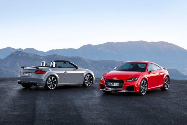 W Pekinie pokazane zostały najmocniejsze odmiany Audi TT RS