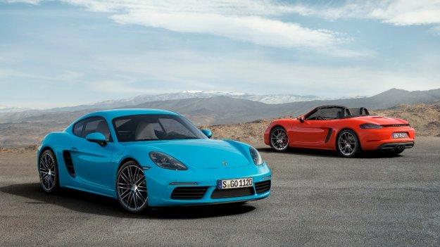 Nowy Porsche 718 wzbogaca się o odmianę Cayman