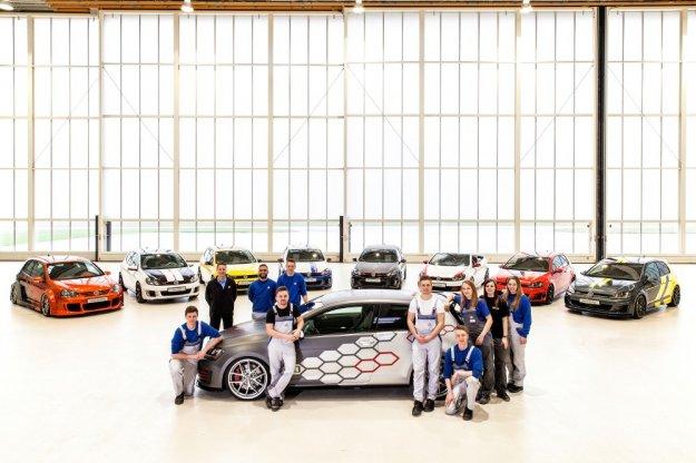 Zlot fanów Volkswagena oraz premiera 310 konnego Golfa