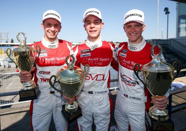 Audi TT Cup już na start z nową gwiazdą