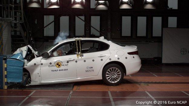 Wyniki trzech nowych testów EuroNCAP