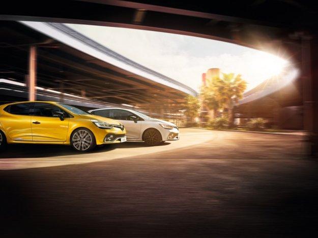 Trzy sportowe twarze Renault Clio