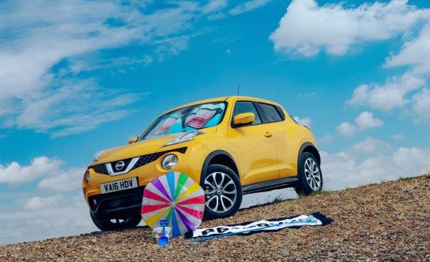 Crossovery Nissan ze specjalną powłoką lakieru