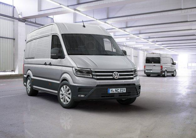 Nowy Volkswagen Crafter wkracza do akcji