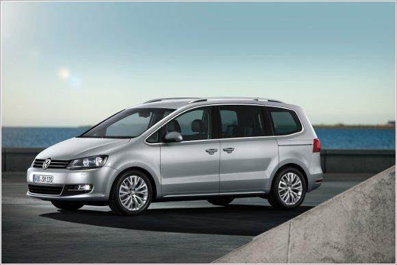 VW Sharan - śpiąca królewna