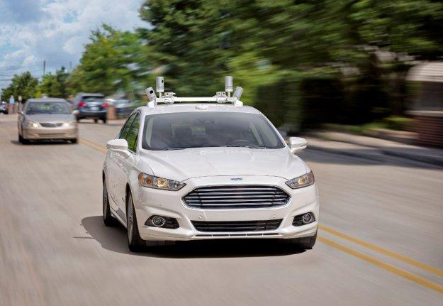 Pierwsze autonomiczne samochodu Forda już w 2021 roku