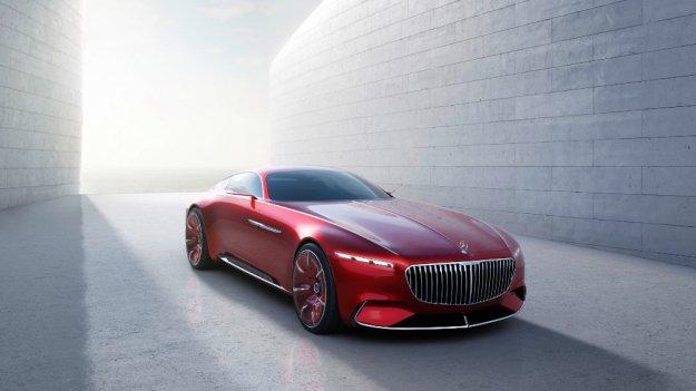 Mercedes-Maybach 6 reinterpretacja klasycznego piękna