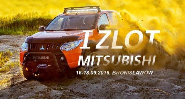 Nadchodzi I zlot miłośników japońskiej marki Mitsubishi
