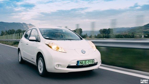 Długodystansowy test elektrycznego modelu Nissan Leaf