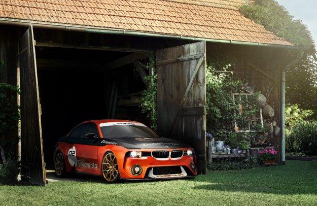 BMW 2002 Hommage narodziny sportowego samochodu BMW