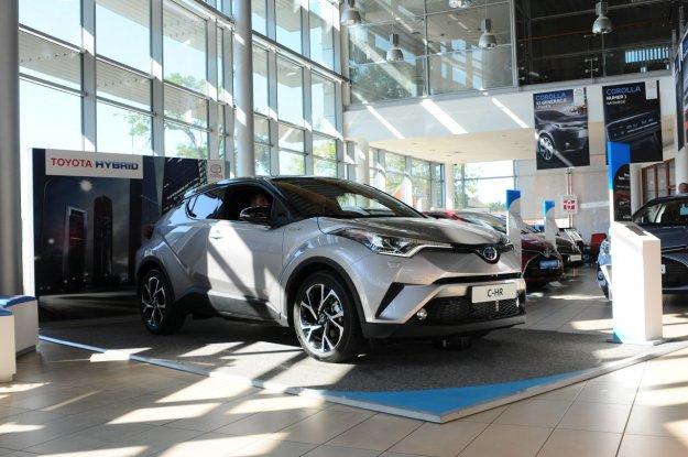 Pierwsza przedpremierowa Toyota CH-R już w Polsce
