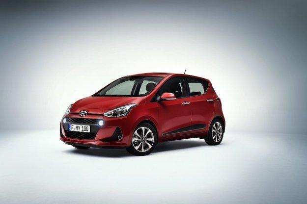 Premiera odświeżonego Hyundai i10 w Paryżu