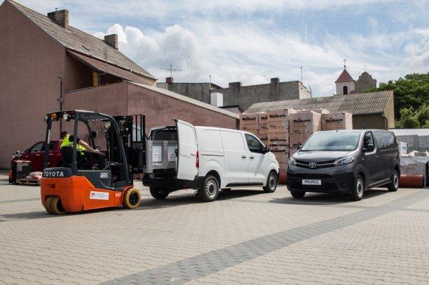 Nowa dostawcza Toyota ProAce już od 73 tyś netto