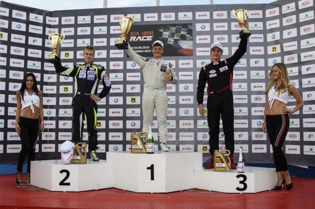 Kia Lotos Race 5 runda w Most, Czechy