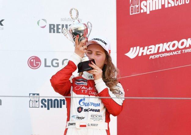 Audi TT Cup z Polką na podium