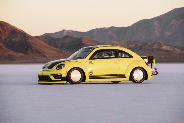 Nowy rekord prędkości Volkswagena Beetle LSR