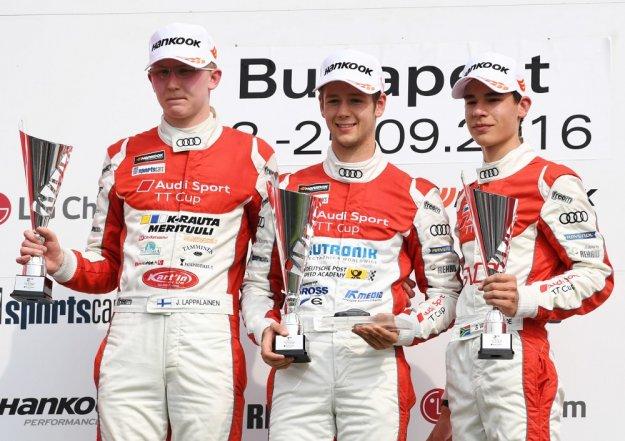 Drugi sezon wyścigowy Audi TT Cup zakończony